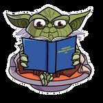 Commish - Reading Yoda Loves