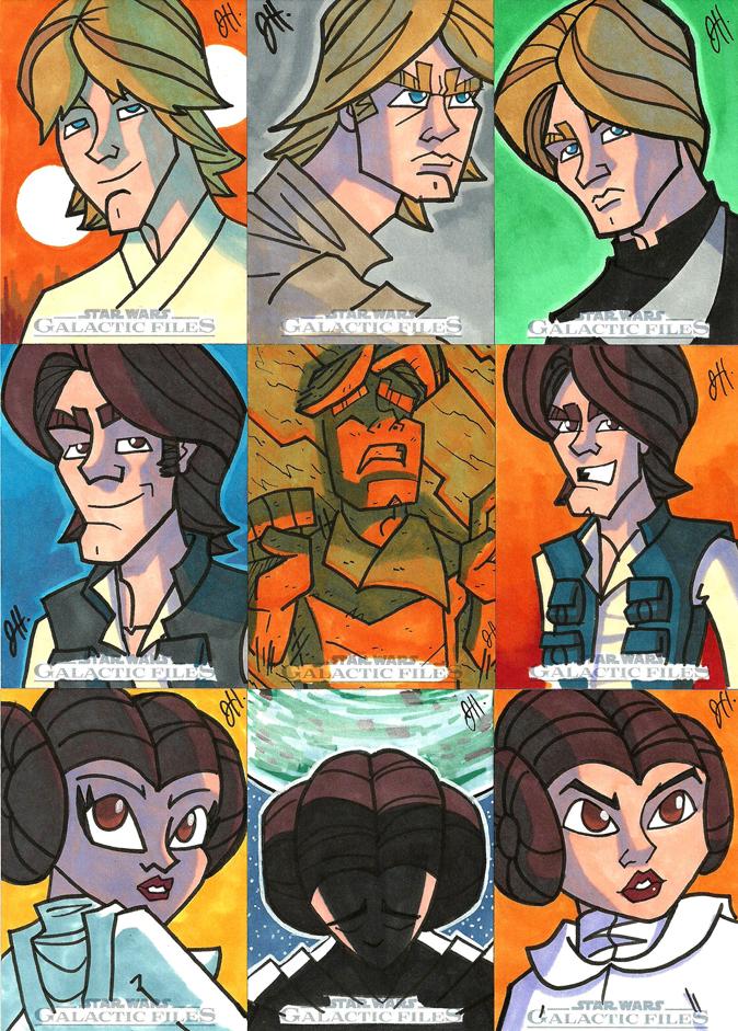 Topps SWGF 05 - OT Heroes by JoeHoganArt