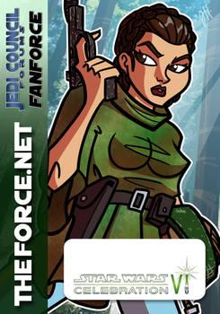 TFN CVI Badge 04 - Leia Organa