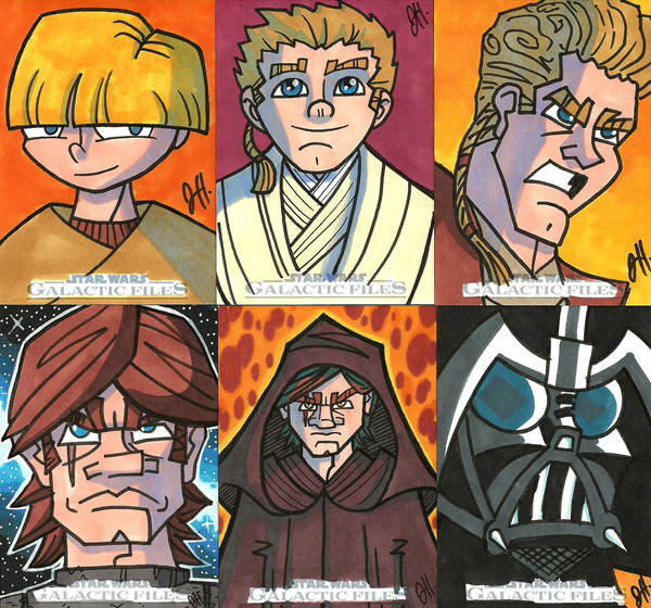 Topps swgf 14 anakin skywalker by joehoganart on deviantart - The five star student dormitories boutique style spoil ...