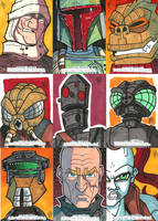 Topps SWGF 08 - Scum and Villainy by JoeHoganArt