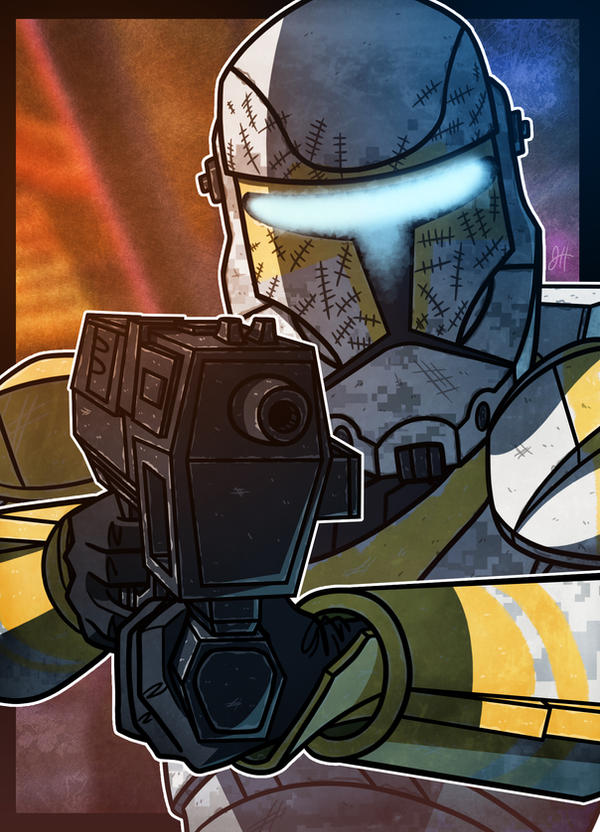 Republic Commando - Gregor by JoeHoganArt