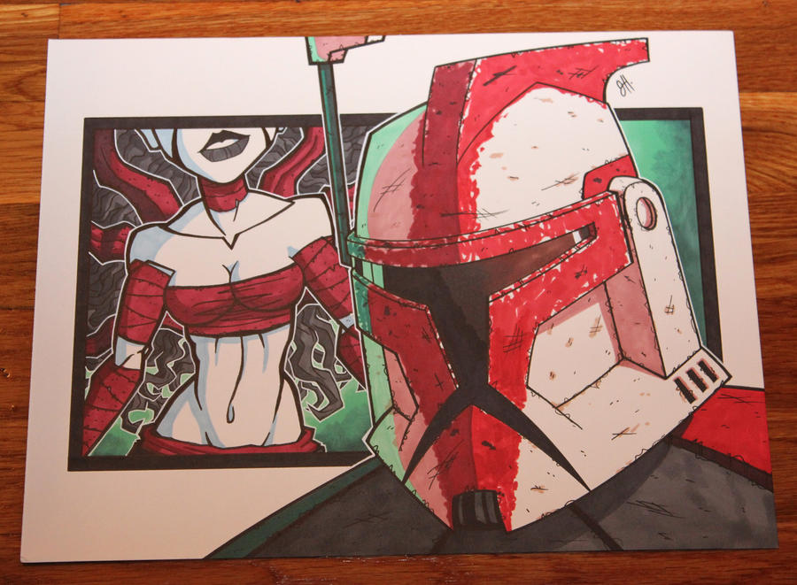 Fordo and Siren - Blackout 2012 by JoeHoganArt