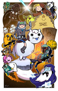 Adventure Wars - Collaboration With Mike Vasquez