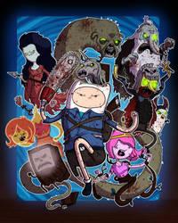 Evil Dead Time - Collab w Mike Vasquez by JoeHoganArt