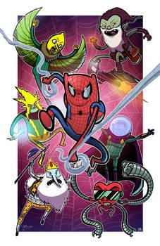 Spider-Time - Collab w Mike Vasquez by JoeHoganArt