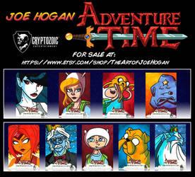 Cryptozoic - Adventure Time Season 1 - 4 For Sale!