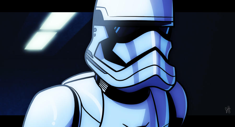 The Force Awakens - Trooper by JoeHoganArt