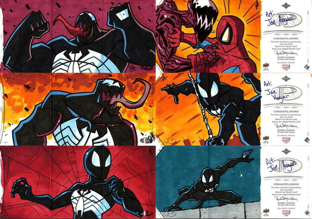UD - Marvel Premier 2014 - Symbiotes by JoeHoganArt