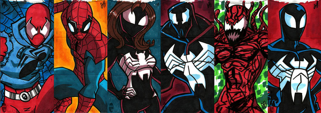 UD - Marvel Premier 2014 - Spidey by JoeHoganArt