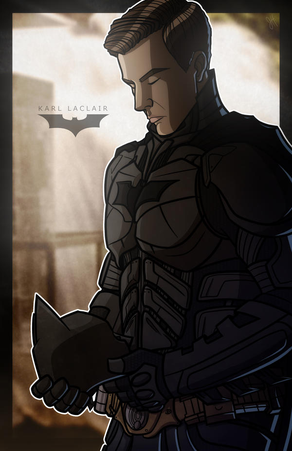 Commish - A Dark Knight by JoeHoganArt