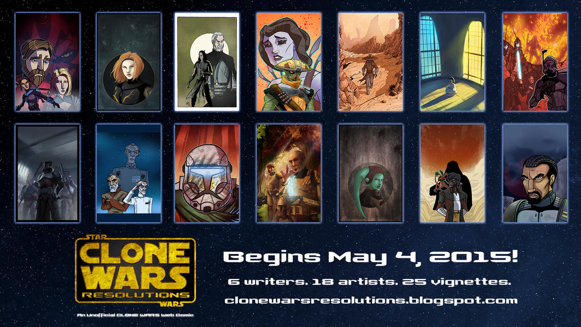 Clone Wars Resolutions is Here by JoeHoganArt