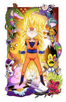 Dragonball Time Z - Collab w/ Mike Vasquez