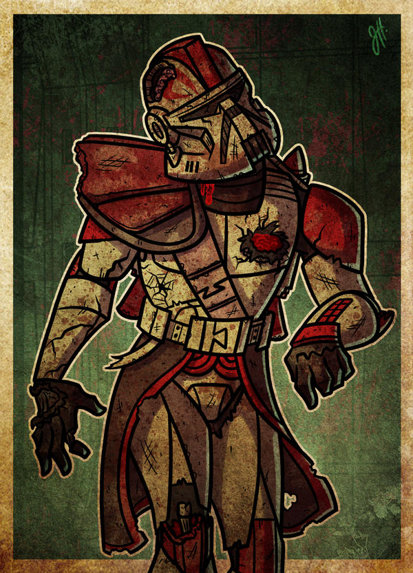 Undead Captain Fordo Phase II by JoeHoganArt
