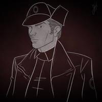 General Hux Sketch by JoeHoganArt