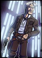 5 of 9 - Han Solo by JoeHoganArt