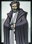 9 of 9 - SPOILERS - Luke Skywalker by JoeHoganArt