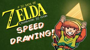 Speed Drawing - 30 Days of Zelda - Day 1