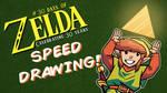 Speed Drawing - 30 Days of Zelda - Day 1 by JoeHoganArt