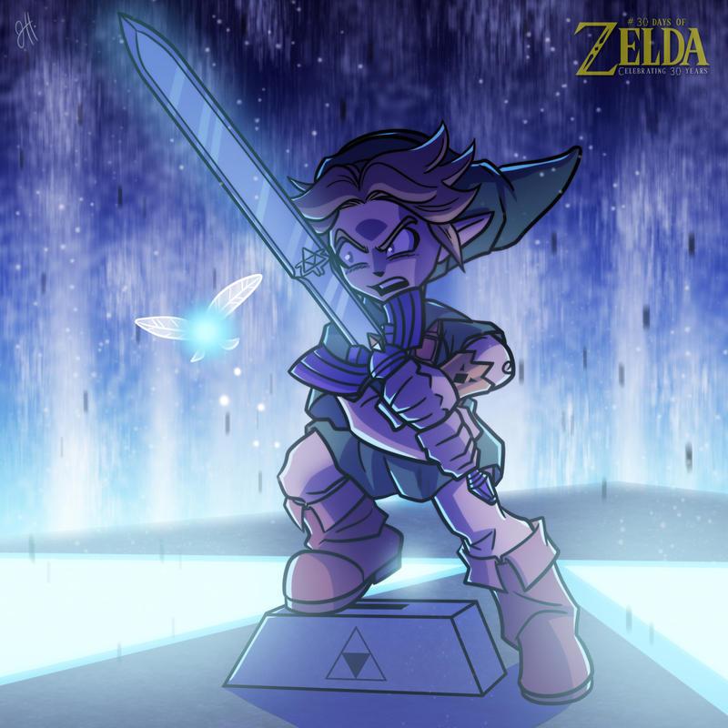 30 Days of Zelda - 08 by JoeHoganArt