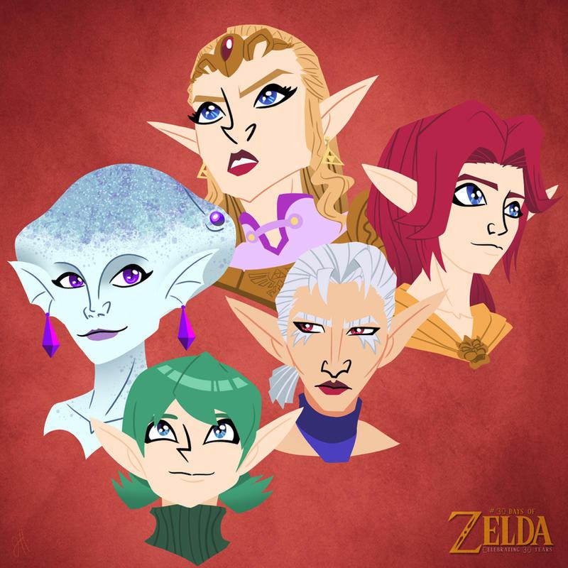 30 Days of Zelda - 09 by JoeHoganArt