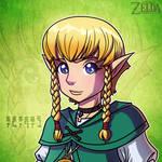 30 Days of Zelda - 29 by JoeHoganArt