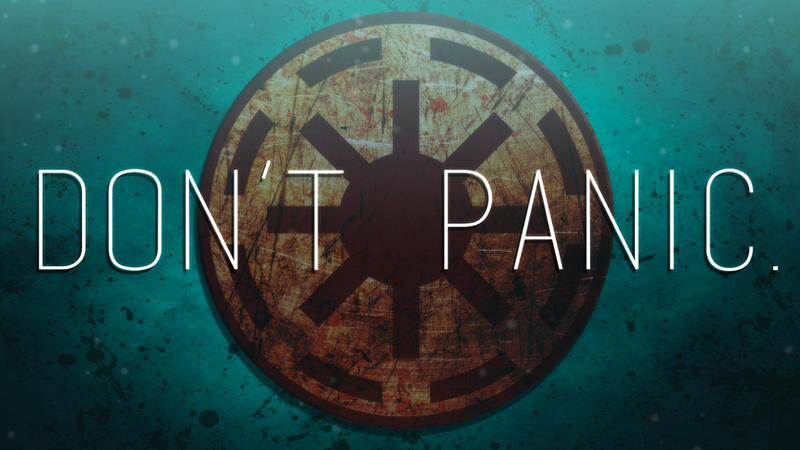 Don't Panic by JoeHoganArt