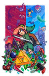 Epic Game Print - Zelda - Link to the Past
