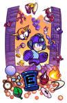 Epic Game Print - Mega Man 2