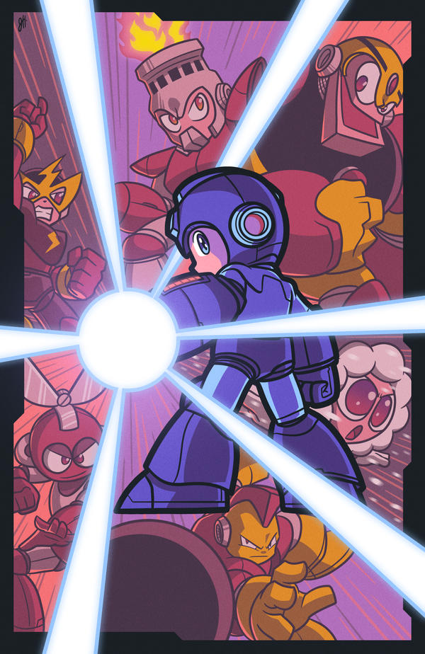 Mega Man I by JoeHoganArt