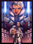 Siege of Mandalore - Officially Licensed Print