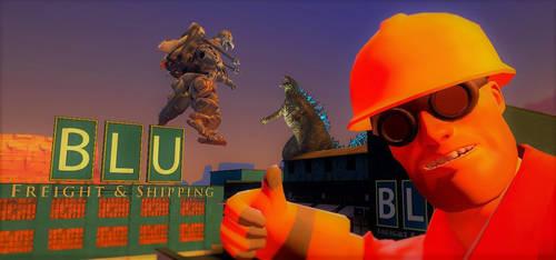 Godzilla Fortress 2 by Probroart95