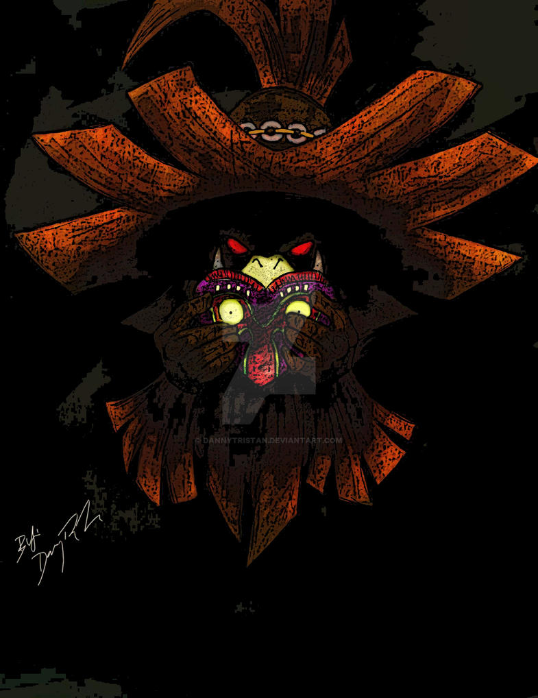 Majora's Mask By Danny Tristan Posturized by dannytristan