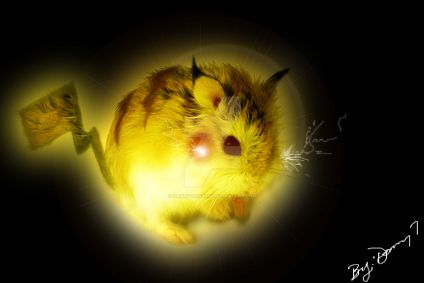 My Bad Ass Pikachu By Danny Tristan by dannytristan