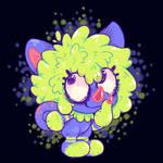 floofy cutie by blacksugarpill