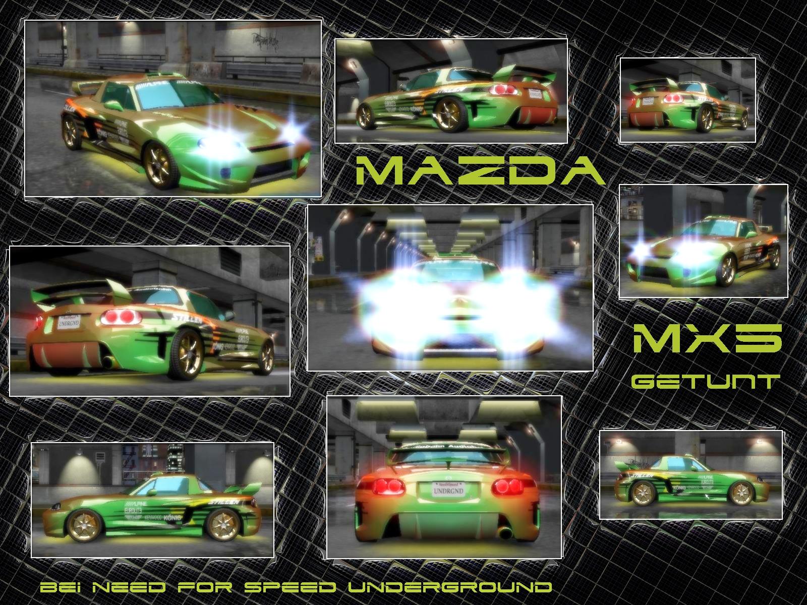 Madza MX5 tuned by MacSnider
