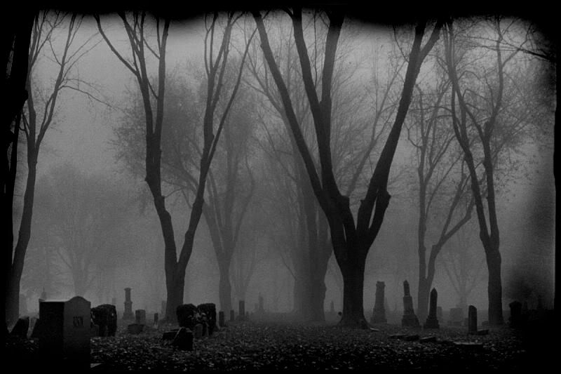 Foggy Graveyard By BlackHive Jamesbreaker15