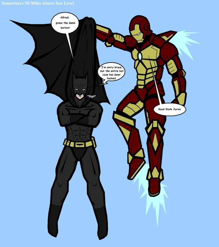 Iron Man vs Batman 2: Prelude by jamesbreaker15 on DeviantArt