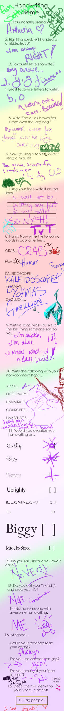 Artheeria's Handwriting Love