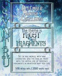 Fragmented Frost December Challenge