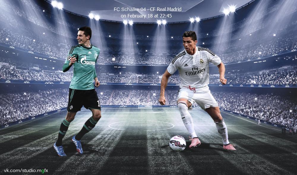 Schalke Real Madrid by Matebarchuc