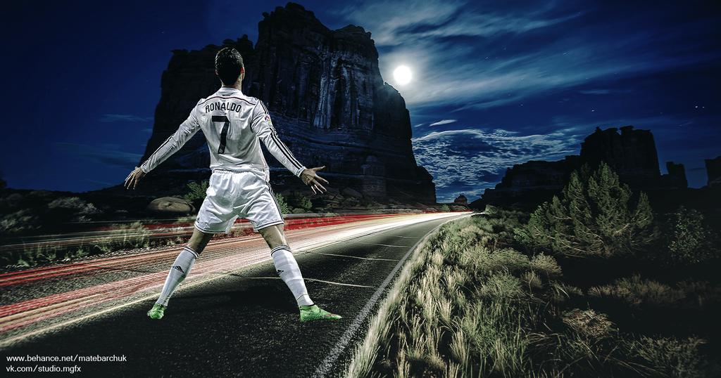Cristiano Ronaldo by Matebarchuc