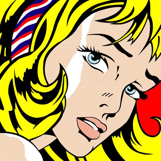 Professional Screeding Pop And Painting Designs Works: Roy Lichtenstein 2 By Lordrott On DeviantArt