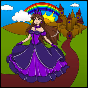 Jaiden as a Princess