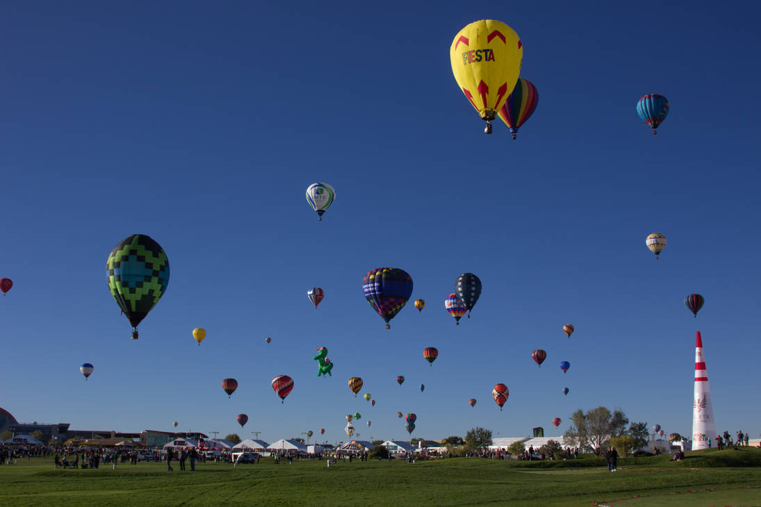 2017 Balloon Fiesta - Opening day