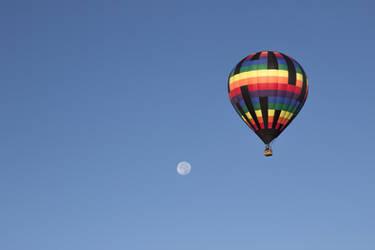 2017 Balloon Fiesta - Over the Moon by BellusTerra