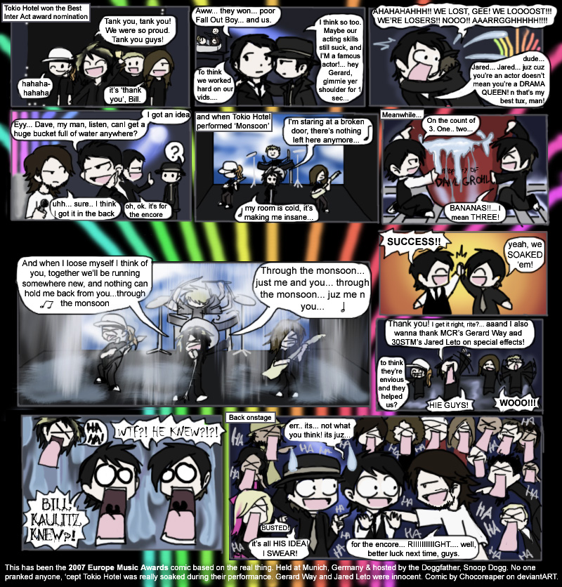 2007 EMA: the comic by Chocoreaper