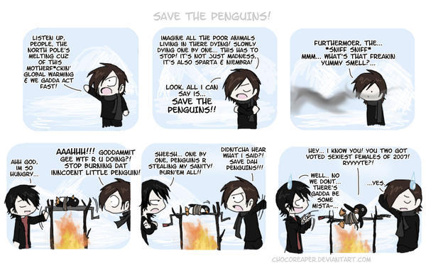 Save The Penguins by Chocoreaper