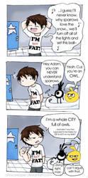 Owl City comic... sorta... by Chocoreaper