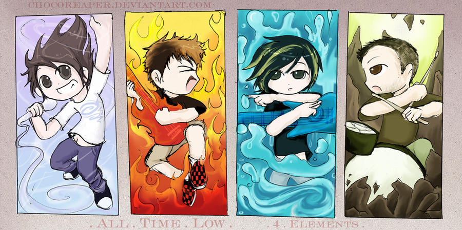 All Elements Of Art : All time low elements by chocoreaper on deviantart